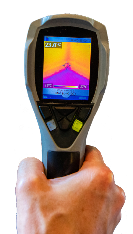 Florida Mold Inspector using Thermal Imaging